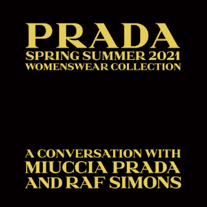 Watch Miuccia Prada and Raf Simons' co-designed debut show