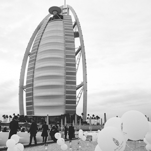 The Burj Al Arab celebrates its 15th anniversary