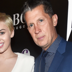 Miley Cyrus co-hosts W Magazine's Shooting Stars exhibit opening at Golden Globes