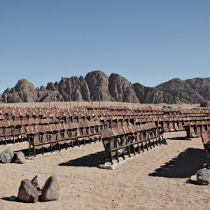 Photographer discovers abandoned cinema in Egypt's Sinai desert