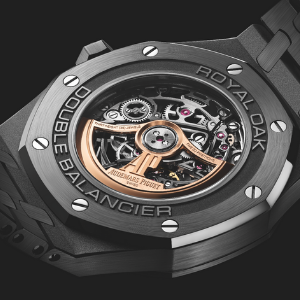 Audemars Piguet reimagines the Royal Oak Double Balance Wheel Openworked in black ceramic