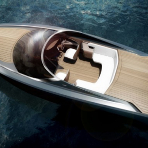 Full scoop: The Aston Martin AM37 speedboat is unveiled at a special Dubai event