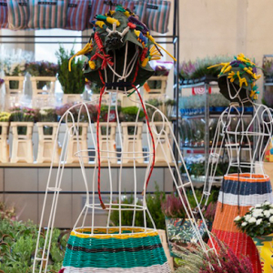 A flower market in Milan by Marni