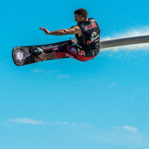 A champion Jet-Skier has developed the 'Hoverboard'