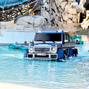 Abu Dhabi's Yas Waterworld hosts Dhs 1.9 million 'Top Gear' car stunt
