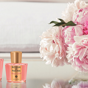 Discover Acqua di Parma's Peonia Nobile collection