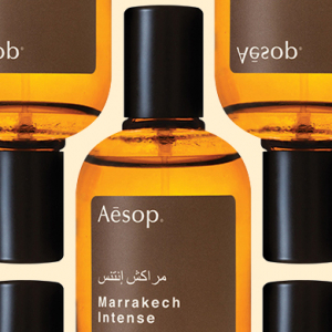 Aesop unveils the all-new 'Marrakech Intense' fragrance