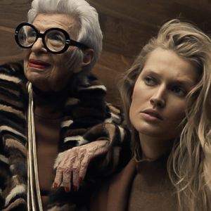 Exclusive: Toni Garrn x Iris Apfel star in Aigner video