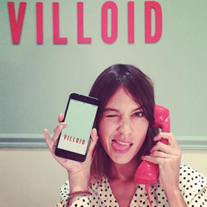 Filling the Villoid: Alexa Chung has launched an app