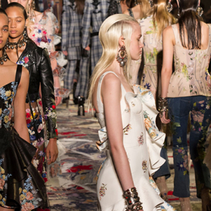 Paris Fashion Week: Alexander McQueen Spring/Summer '17