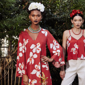 Alice + Olivia channels Frida Kahlo for Summer '16
