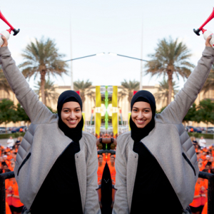 Amna Al Haddad's olympic dream