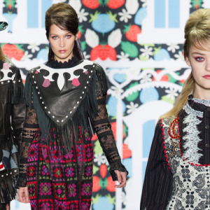New York Fashion Week: Anna Sui Spring/Summer '17