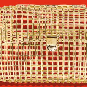 Anndra Neen's 18K gold cage bag to be sold at Sotheby's auction