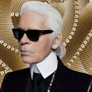 Karl Lagerfeld flaunts his customised Apple Watch Edition