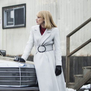 Armani designs wardrobe for Jessica Chastain's latest film
