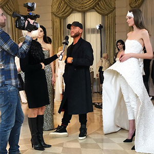 "Exclusive: Celebrity-approved designer August Getty speaks about his latest couture creations and ""TheGettyGirl\"" concept"