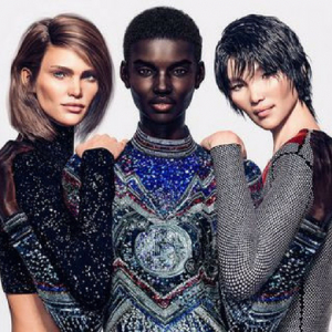 Balmain uses CGI models for its latest campaign