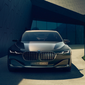 BMW unveils its new Vision Future Luxury Concept
