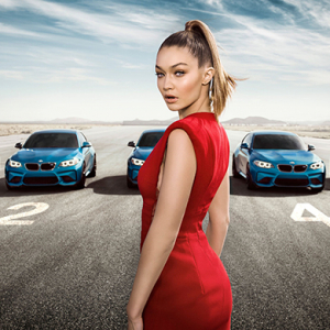 "BMW asks: ""Can you keep your eyes on Gigi?\"""