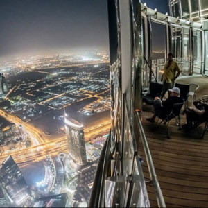 Burj Khalifa sets new record with world's highest observation deck