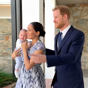 It's official: Royal baby Archie has made his first appearance on tour
