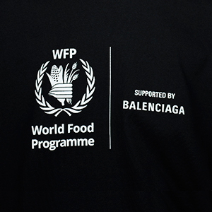 Take two: Balenciaga releases its second capsule collection with the World Food Programme