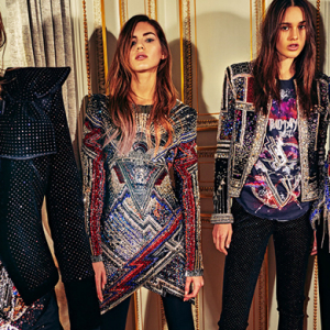 Olivier Rousteing's Pre-Fall '18 collection for Balmain is finally here