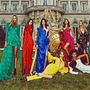 Olivier Rousteing's second edition of Balmain's red carpet capsule collection is here