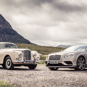 Posh performer: The Bentley Continental GT story