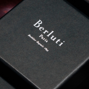 Berluti collaborate with Cire Trudon to create a bespoke candle