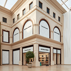 Bottega Veneta's first flagship store in Kuwait is so dreamy