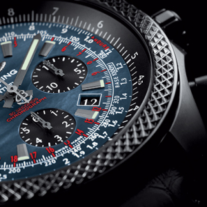 Breitling releases exclusive all-black Bentley B06