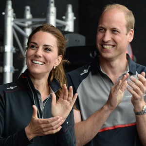 The America's Cup World Series with the British Royals