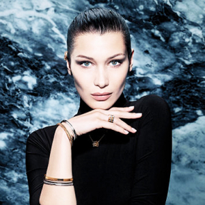 Bella Hadid fronts Bulgari's new B.Zero1 jewellery collection