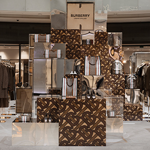 The Thomas Burberry Monogram collection by Burberry has landed in Dubai
