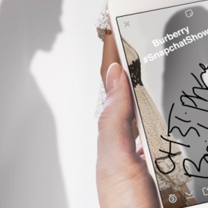 Burberry and Snapchat team up for London Fashion Week