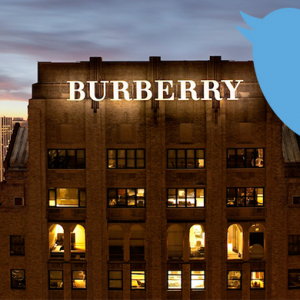 Burberry launches personalised gift service via Twitter