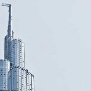 Mystery surrounds the sudden hoarding around Dubai's Burj Khalifa