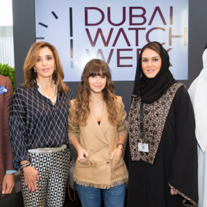 Buro 24/7's Miroslava Duma discusses the fashion of watches in Dubai