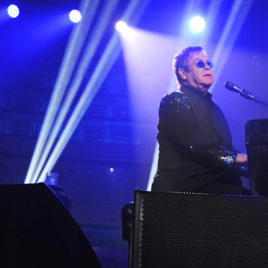 Sir Elton John entertains VIP crowd in London