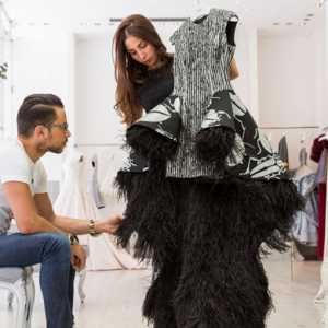 Buro 24/7 Middle East exclusive: Backstage at Rami Kadi AW15 couture