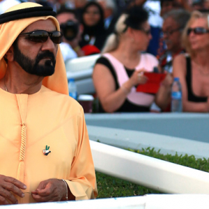 Sheikh Mohammed announces record growth for the UAE in 2014