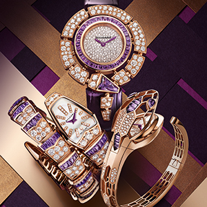 Discover Bvlgari's new Serpenti Amethyst capsule collection