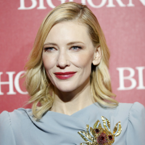 Cate Blanchett is named as Giorgio Armani's first global beauty ambassador
