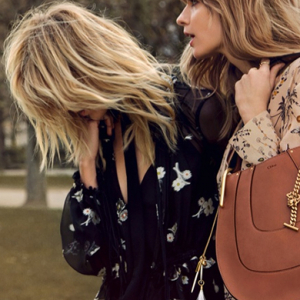Anja Rubik and Julia Stegner star in the new Chloé campaign
