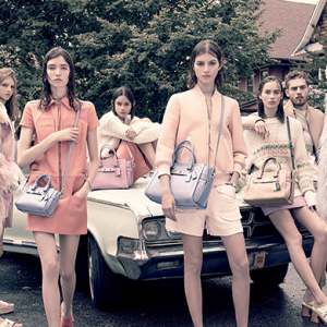 Coach showcase its new high-fashion direction with SS15 campaign