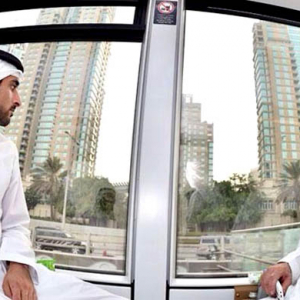 Sheikh Mohammed and Sheikh Hamdan first to ride the Dubai Tram