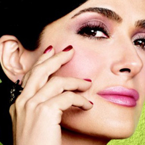 Salma Hayek's new beauty brand campaign