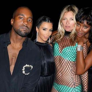 Naomi Campbell, Kanye West, Kim Kardashian and Kate Moss celebrate Riccardo Tisci's 40th birthday